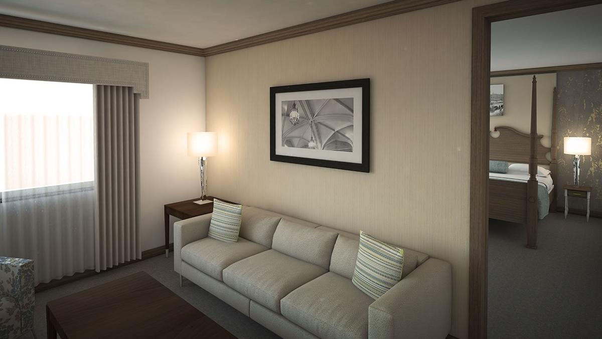 The Towers at the Kahler King Suite rendering - Rochester, MN