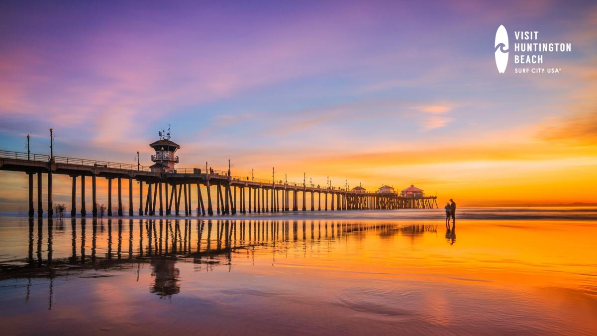 Huntington Beach Zoom Backgrounds For Virtual Meetings