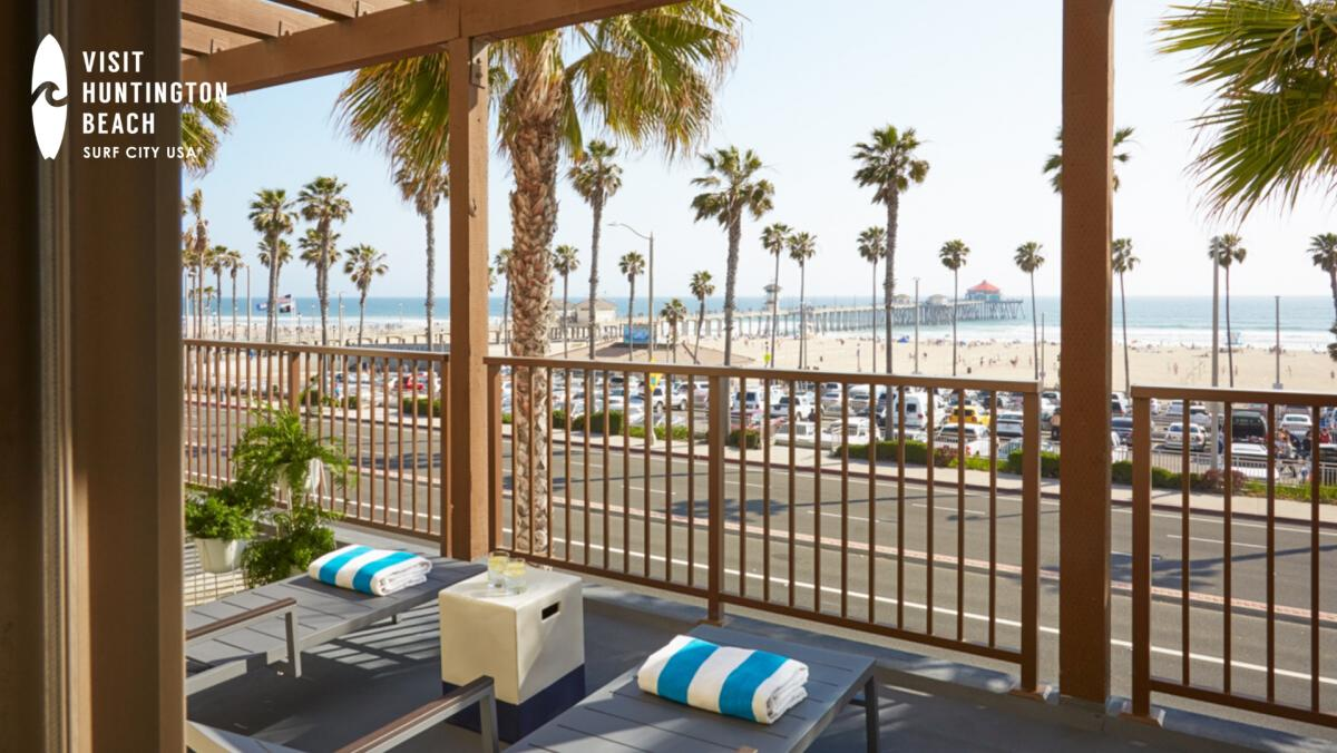 The Kimpton Shorebreak Resort in Huntington Beach