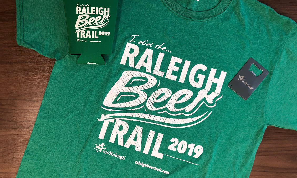 Raleigh Beer Trail prizes