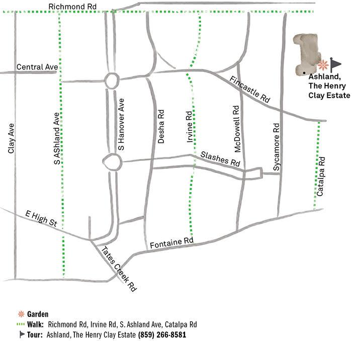 Ashland-Map