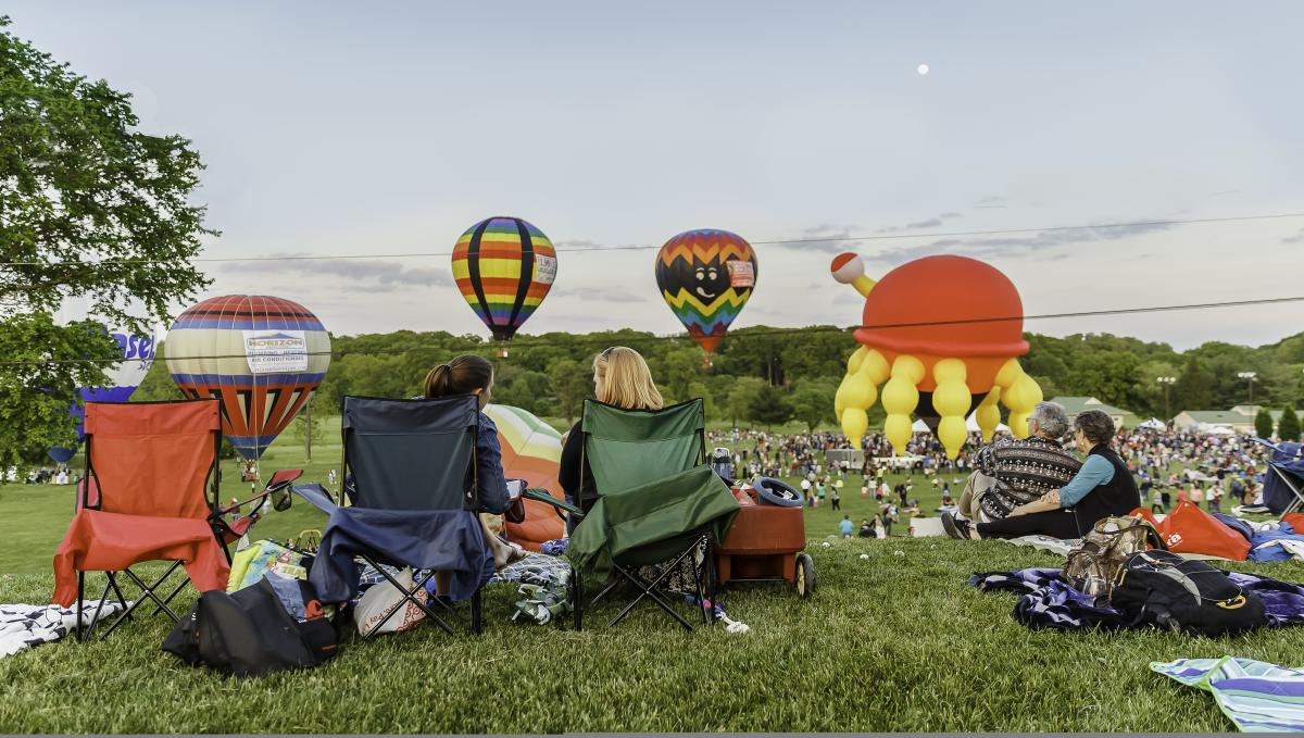 Hot Air Balloon Festival at Turf Valley