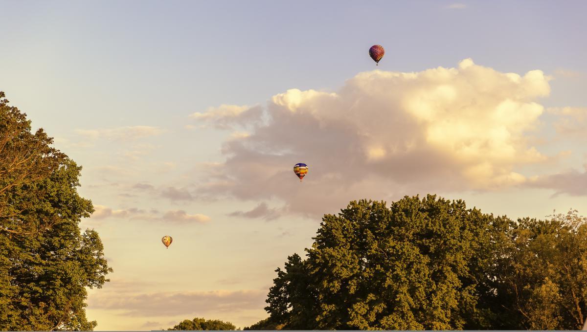 Hot Air Balloon Festival at Turf Valley