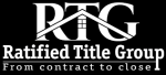 Ratified Title Group Logo