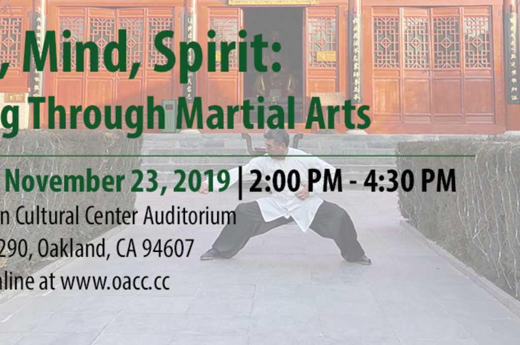 Body Mind Spirit Healing Through Martial Arts