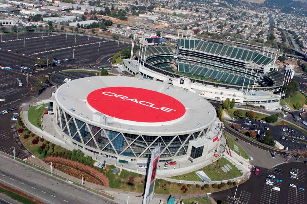Oracle Arena and Oakland-Alameda County Coliseum