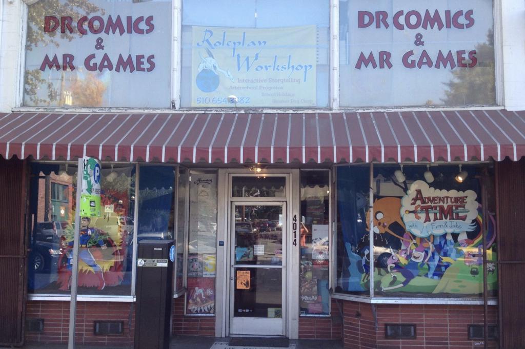 Dr. Comics Storefront