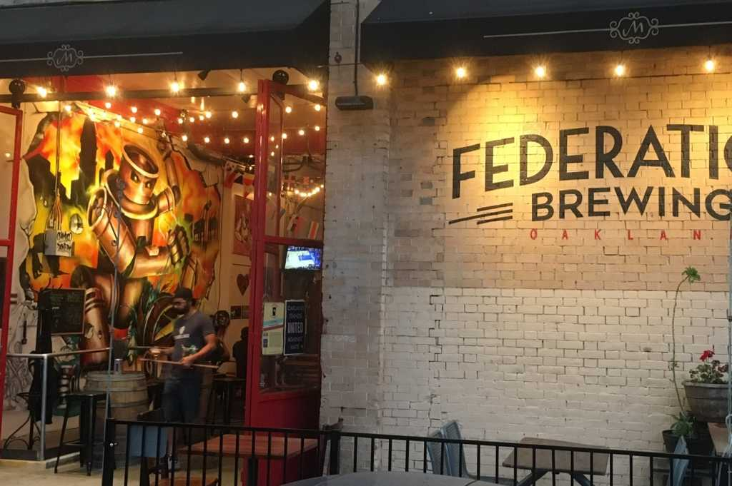 Federation Brewing Exterior