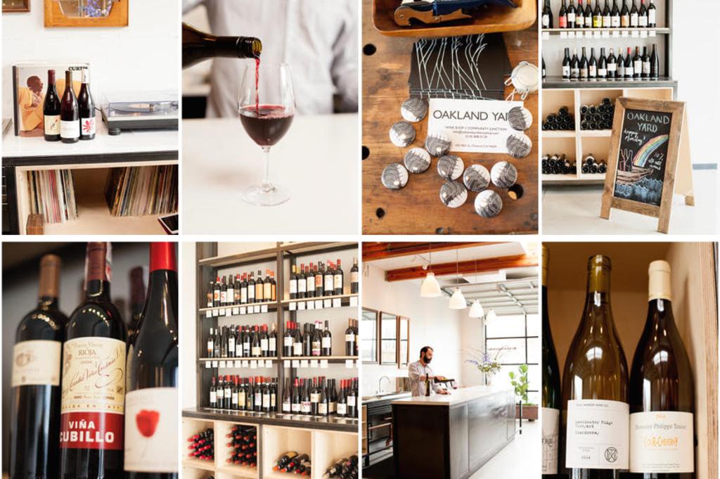 Oakland Yard Wine Shop