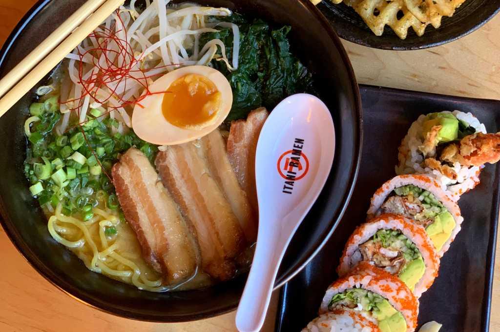 Ramen Sushi Fries