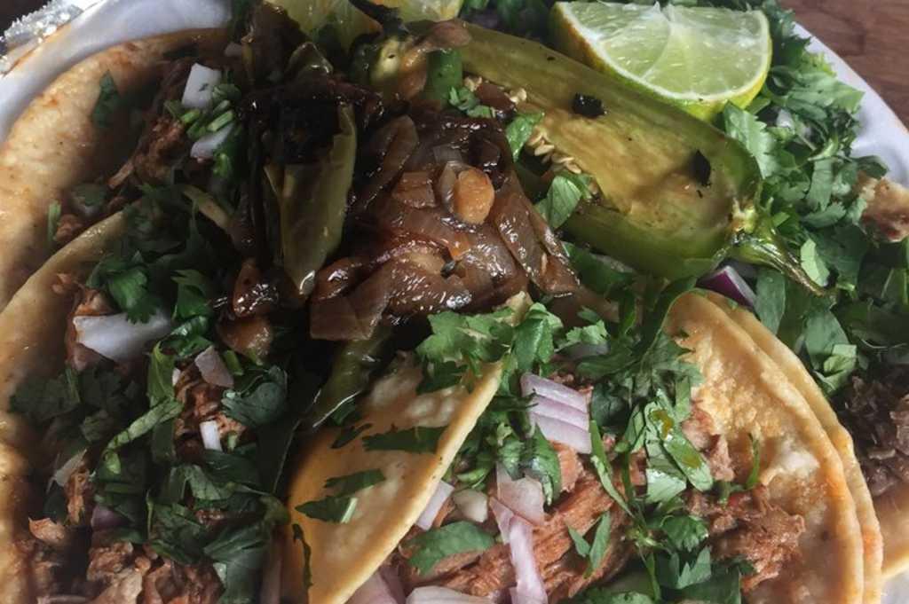 tacos de birria @ Taqueria 16 de Septiembre