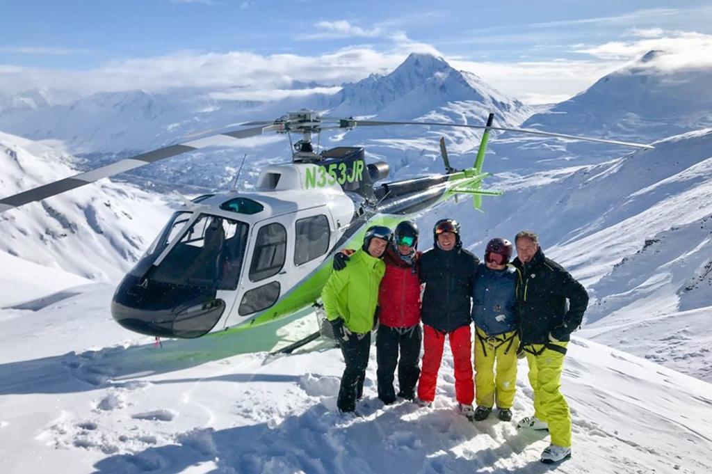 Heli Ski Photo