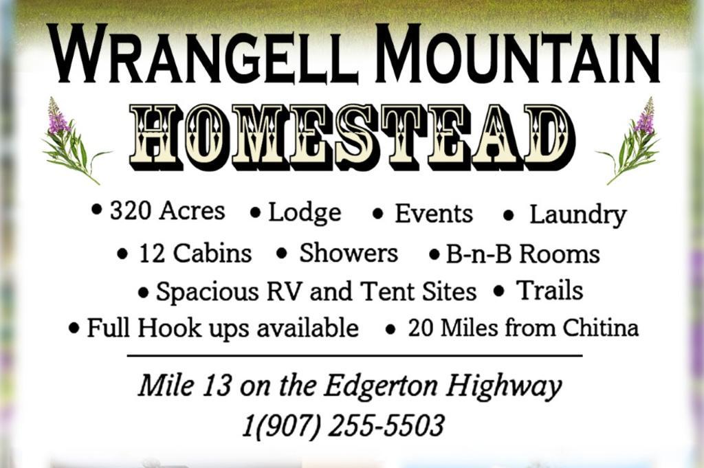 Wrangell Mountain Homestead