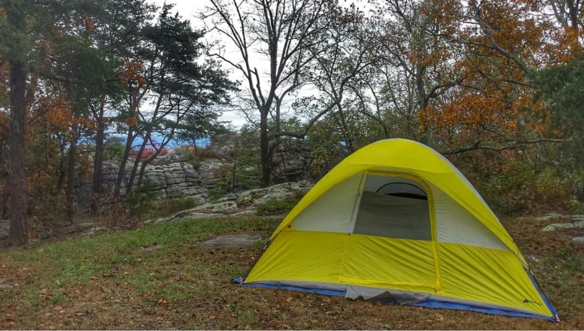 cherokee rock village tent cody hood