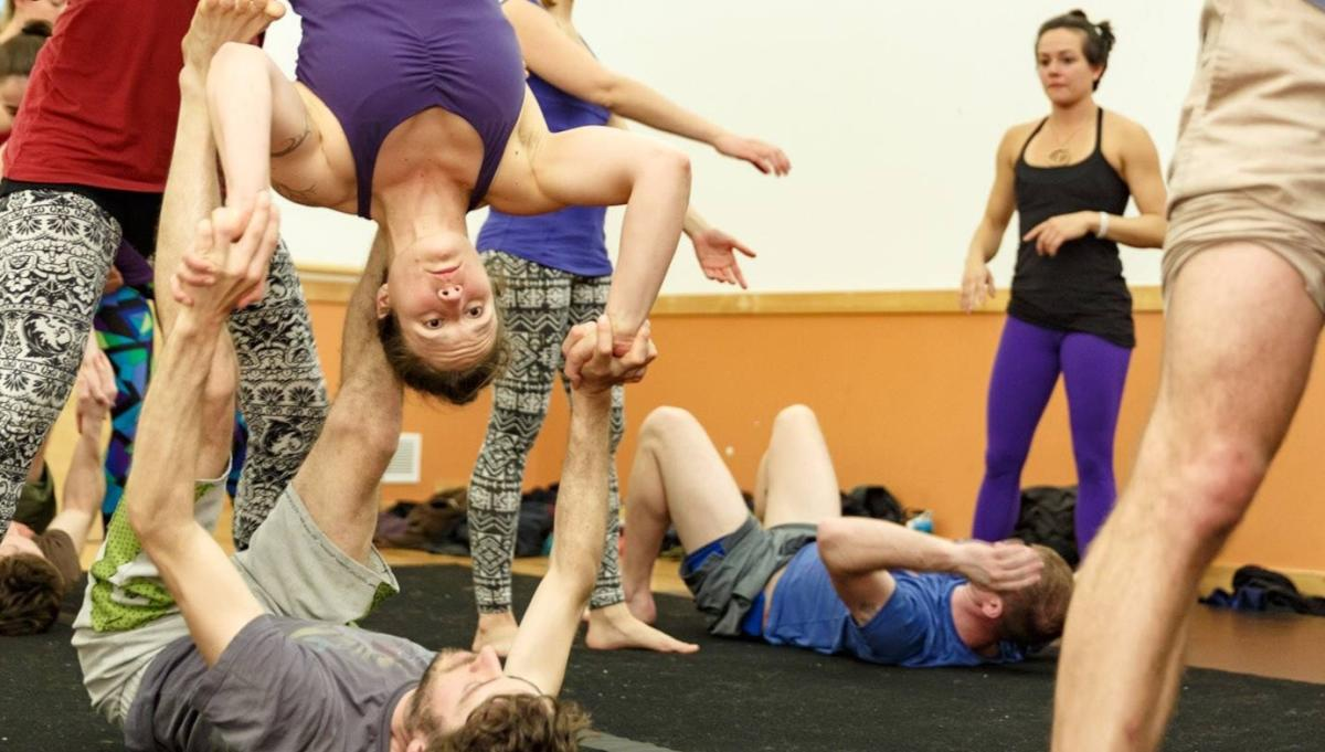 Acro Group at Boulder Circus Center