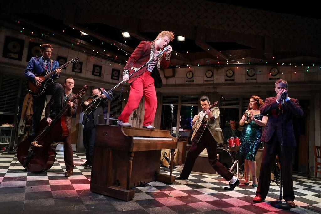 Million Dollar Quartet performance by the Bucks County Playhouse