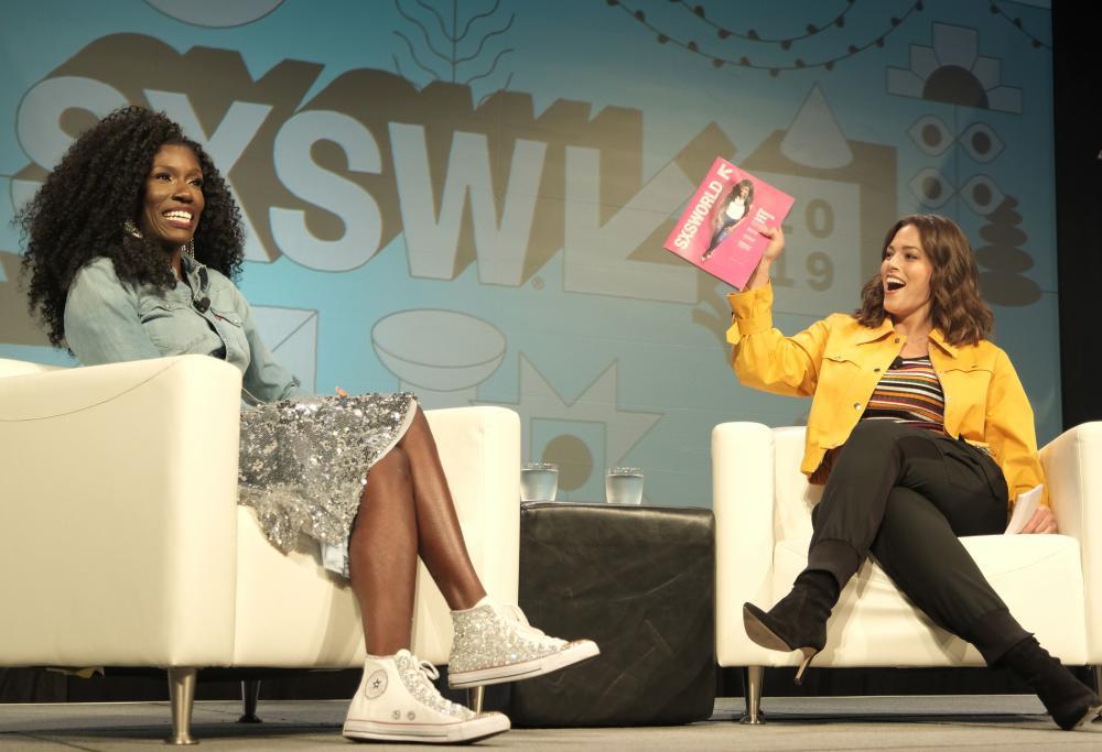 Bozoma Saint John and Ashley Graham at SXSW 2019 in austin texas