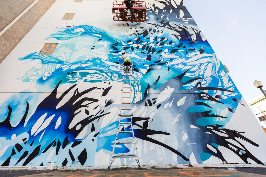 Harrisburg Mural by Crystal Wagner