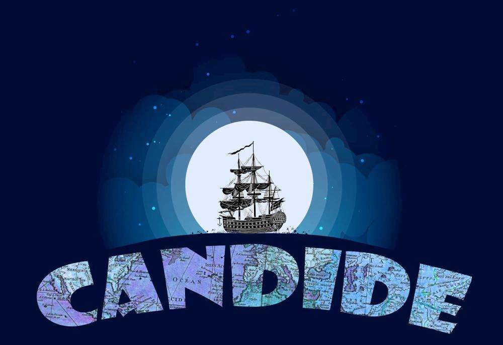 Poster for Candide at Wichita Grand Opera