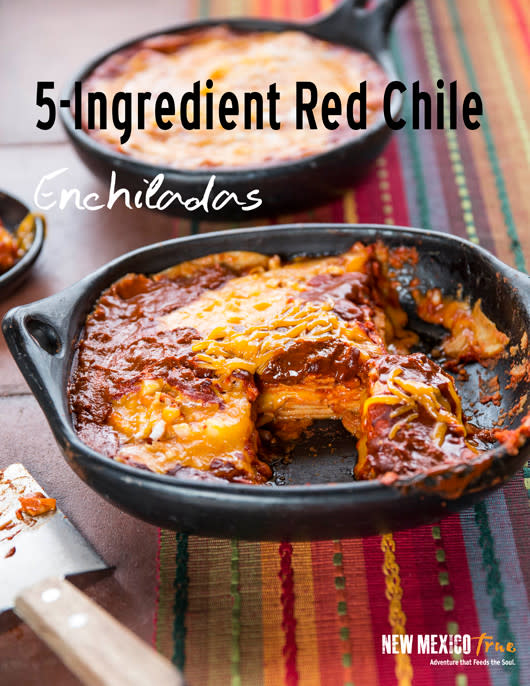 STACKED RED ENCHILADA