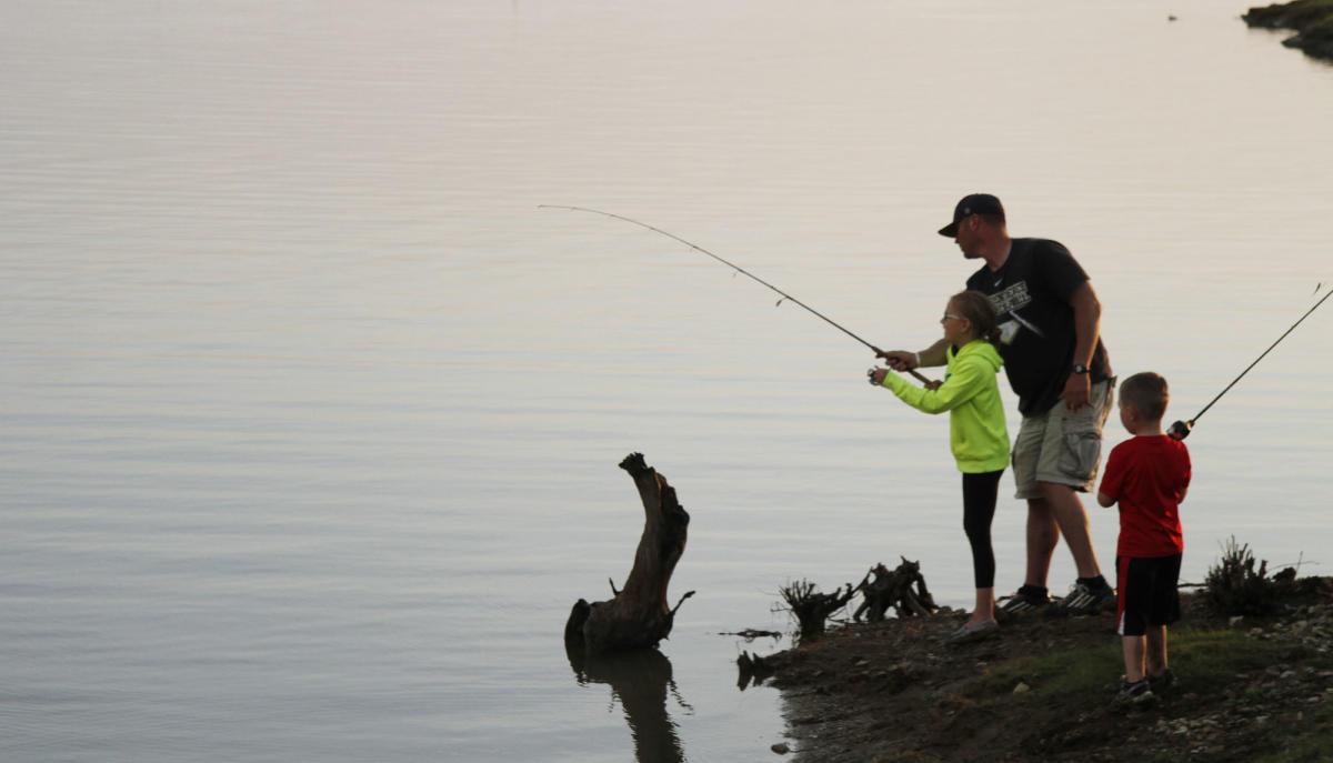 Elk City State Park Fishing