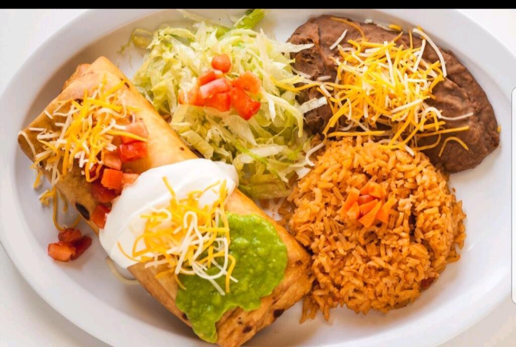 Burrito at Hector's Taco Shop