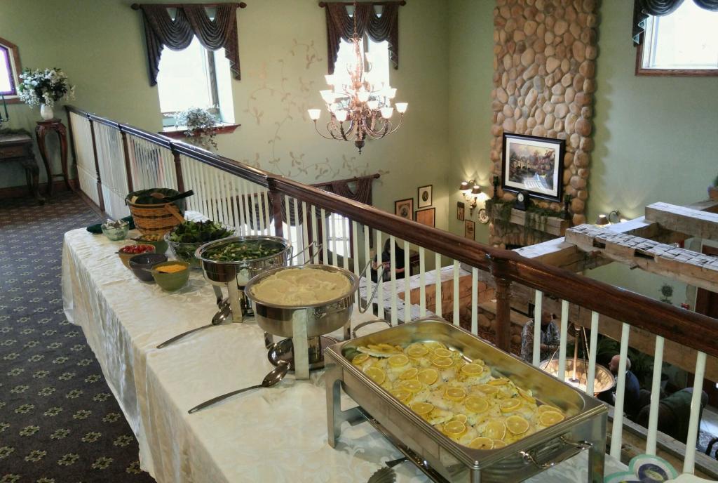 Hearthstone Inn Buffet Table