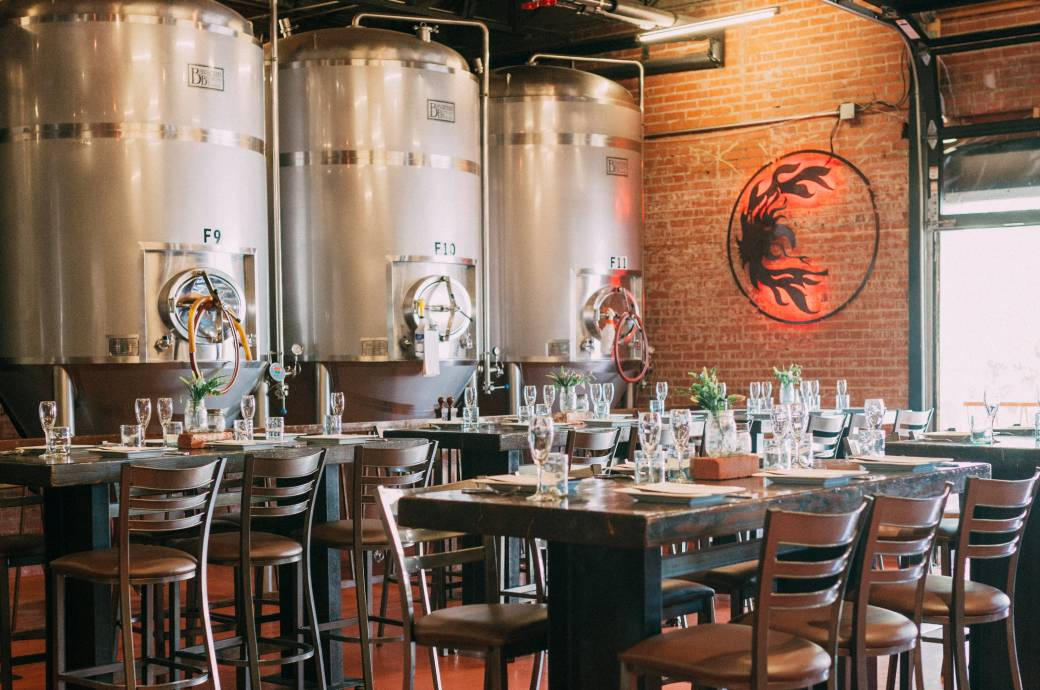 SanTan Brewing Company - Private Brewers Room