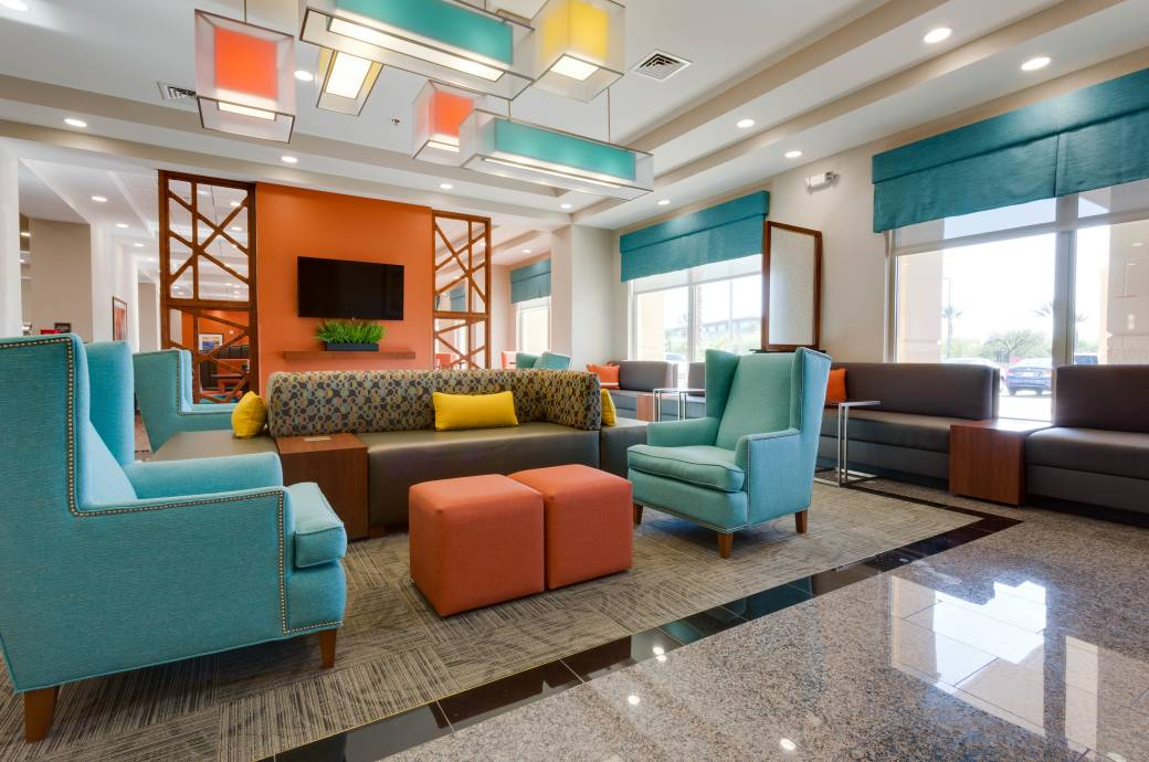 Drury Inn and Suites Phoenix-Chandler Fashion Center Lobby