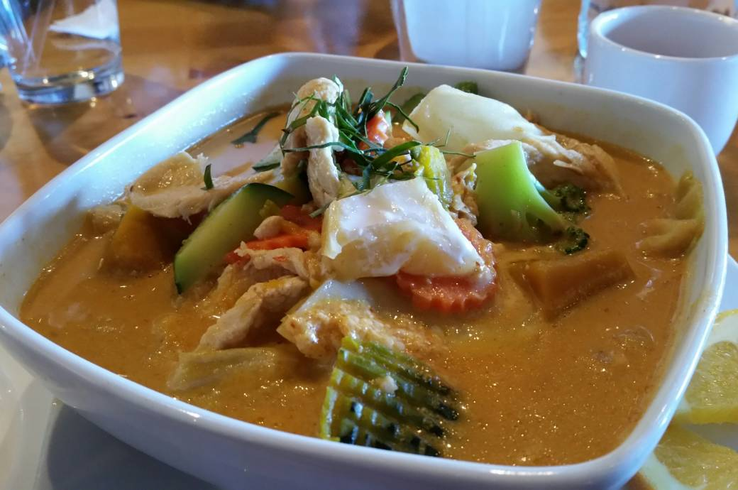 Chon Thai Pumpkin Curry
