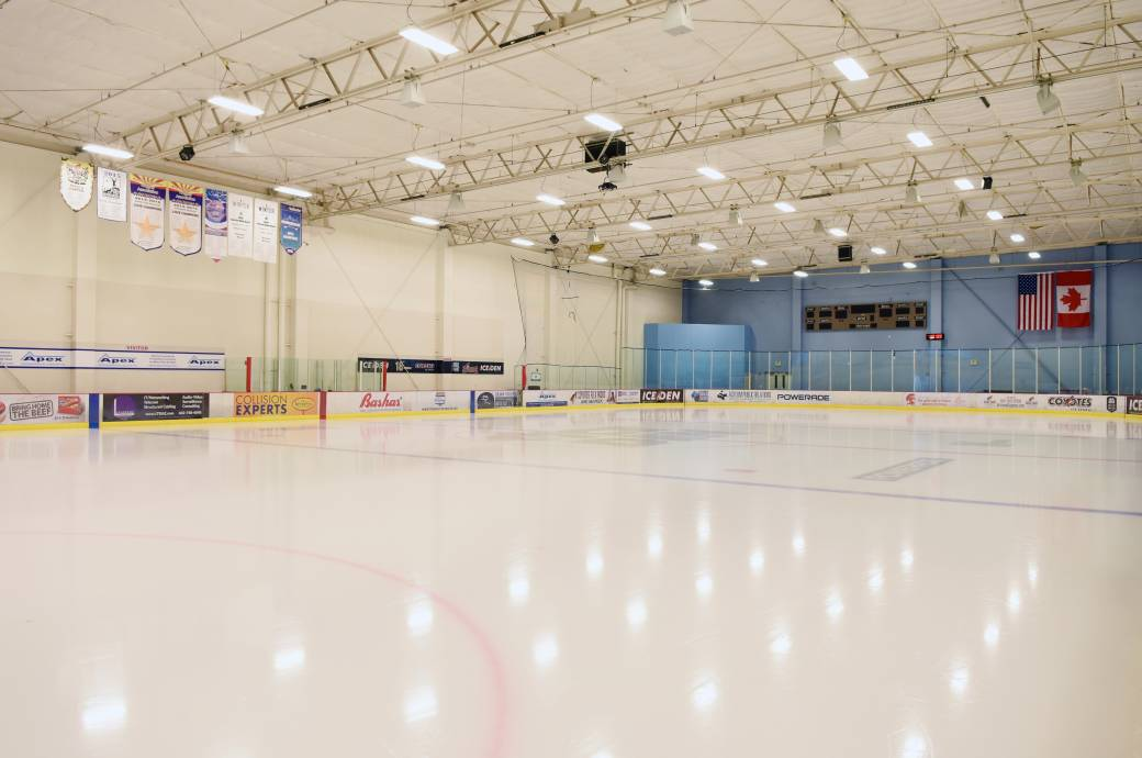 Ice Den Chandler - Rink
