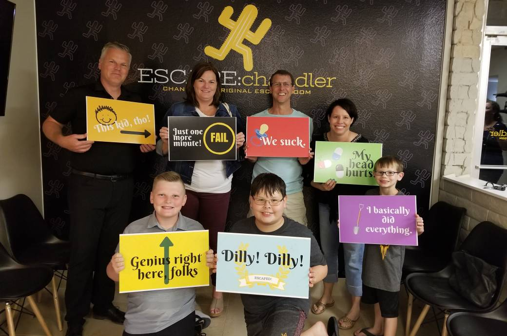 Escape Chandler - finishers