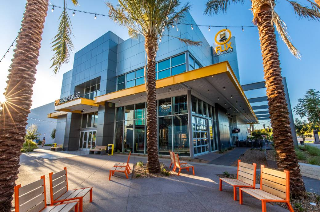 Flix Brewhouse in Downtown Chandler
