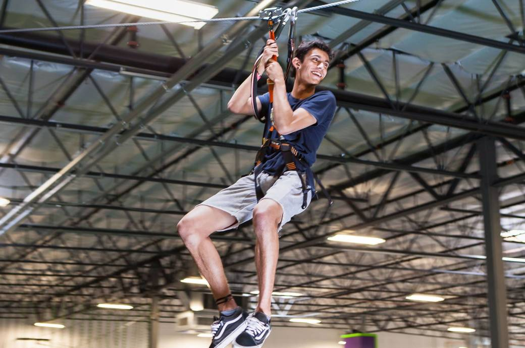 Ropes Course at Gravity Extreme Zone in Chandler, AZ