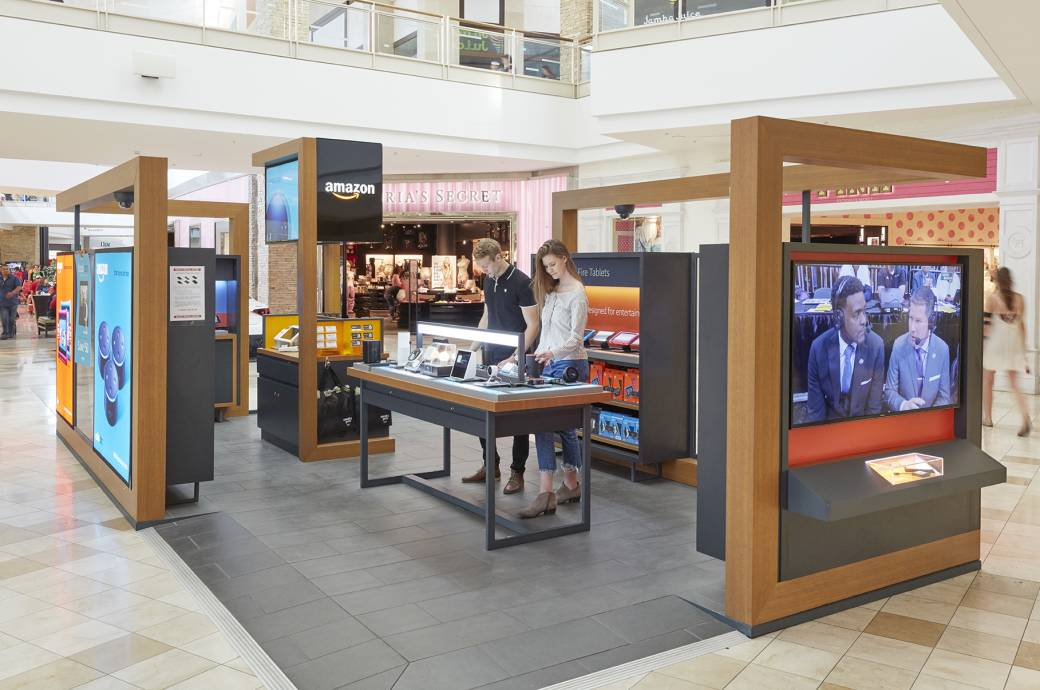 Chandler Fashion Center mall - Amazon Kiosk