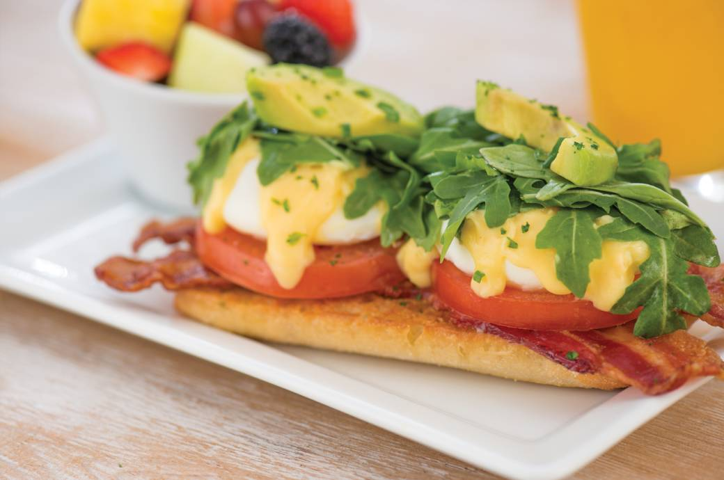 First Watch BLT Eggs Benedict