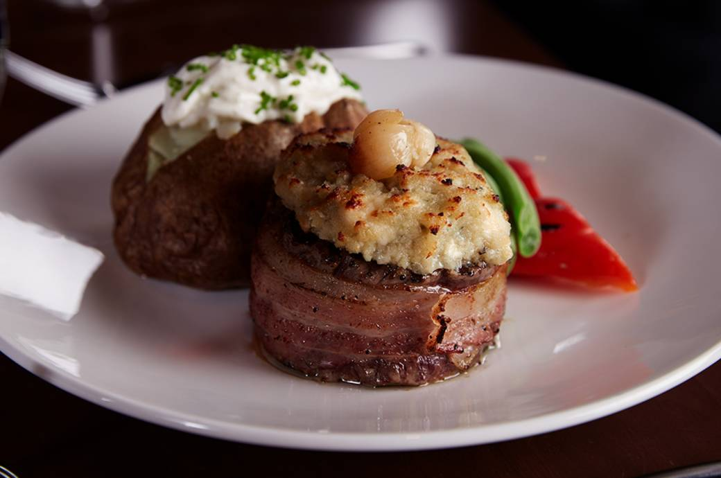 The Keg Steakhouse + Bar Blue Cheese Filet