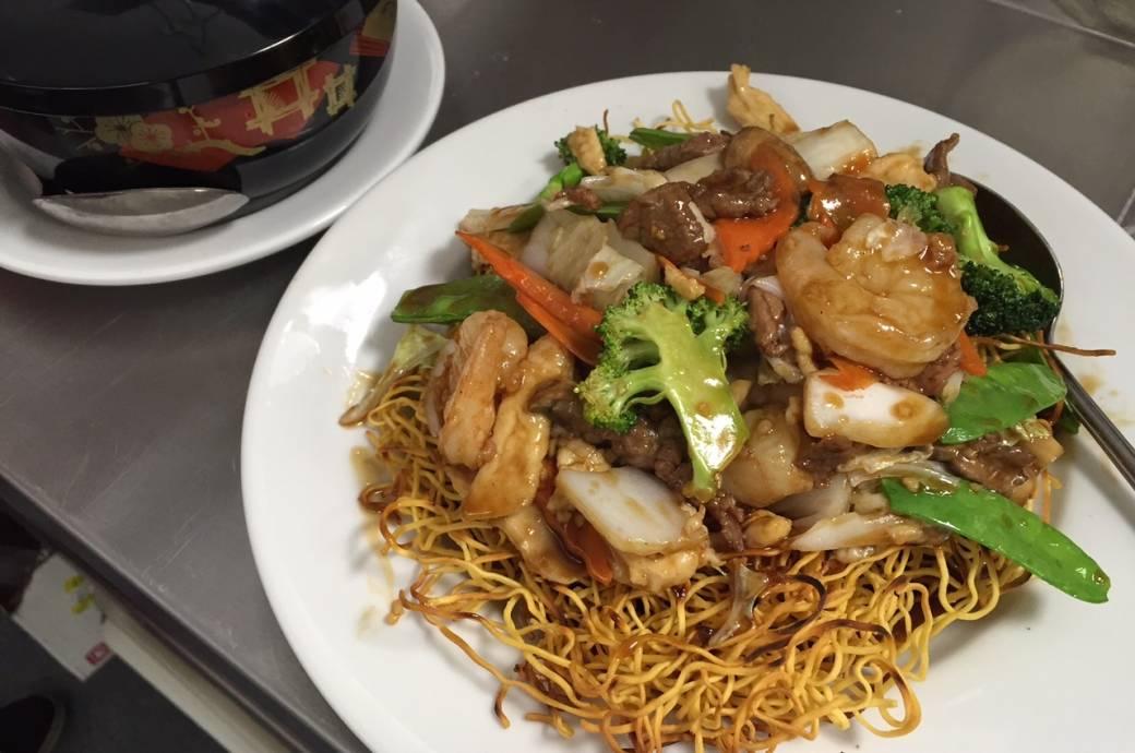 Singing Pandas Asian Restaurant & Bar Cantonese Noodles