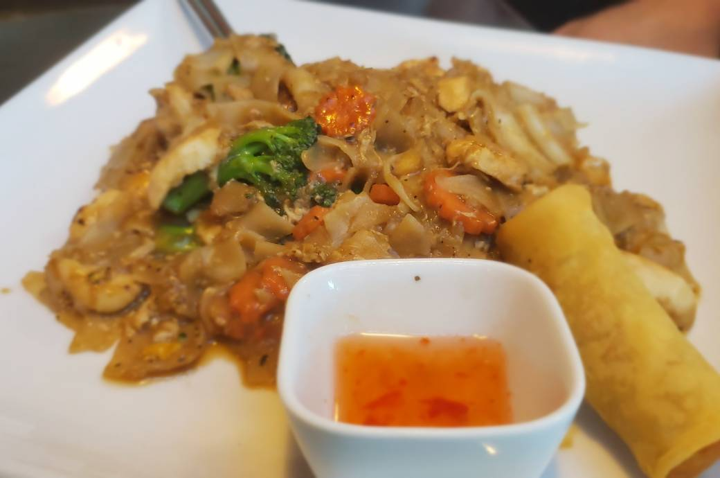 Charm Thai Pad See Ew Lunch Special