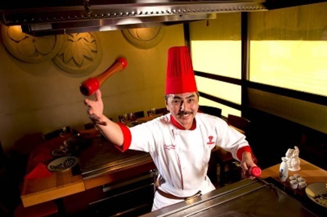 Benihana Chef Tony
