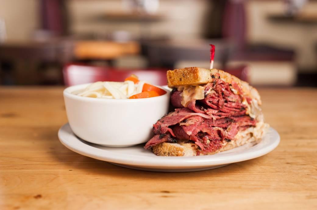Chompie's Reuben Sandwich