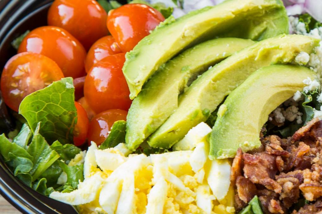 Crisp Greens Cobb Salad