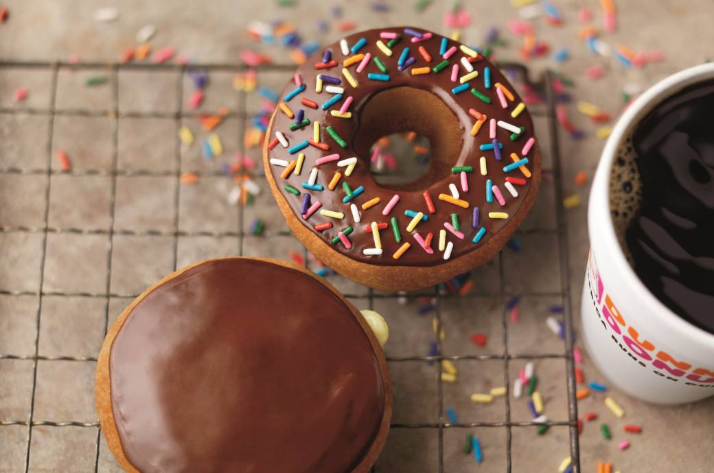 Dunkin Donuts with Coffee