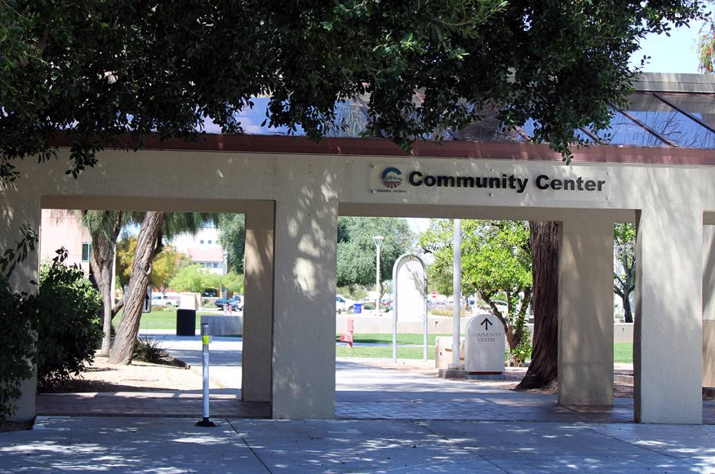 Chandler Community Center - Outside 2