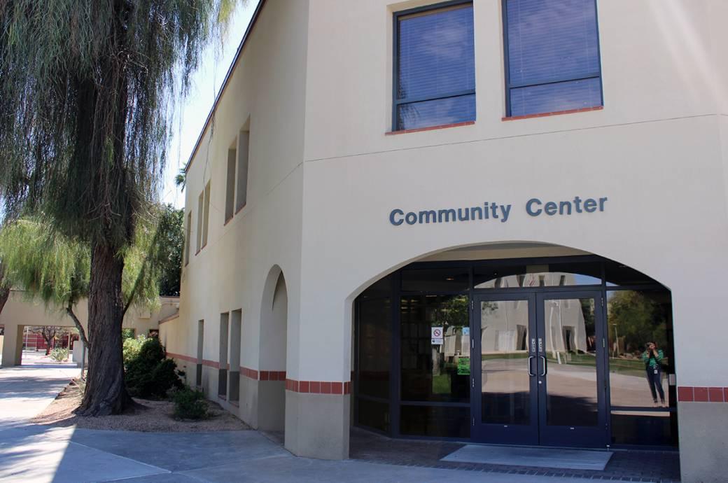 Chandler Community Center - Outside