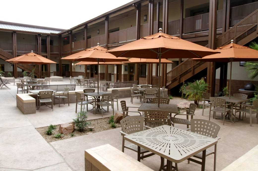 Chandler Community Center - Courtyard