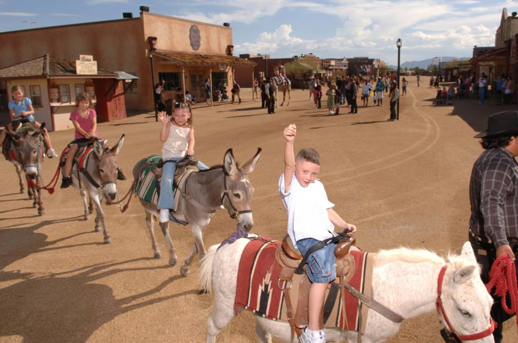 Rawhide Western Town and Steakhouse for Family Fun