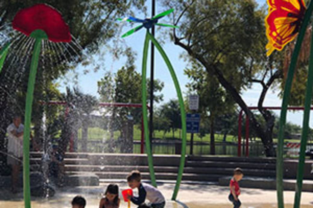 Desert Breeze Park Spray Pad