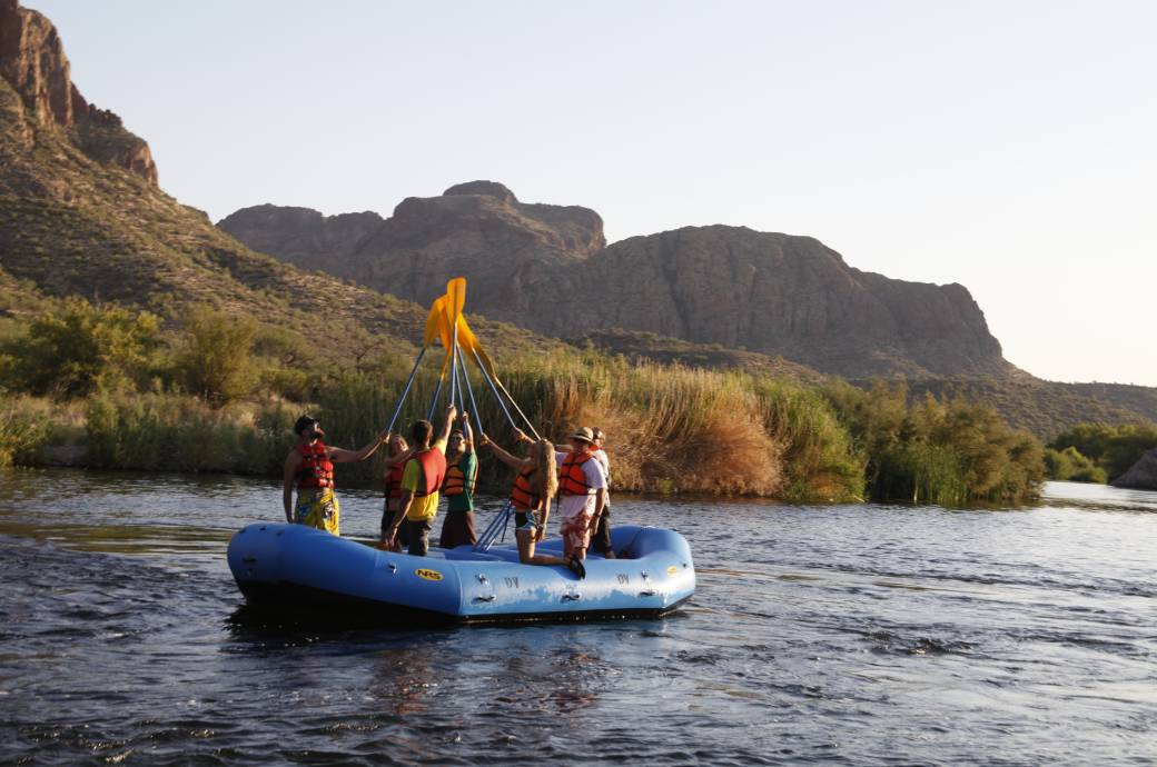 Desert Voyagers Guided Rafting Tours