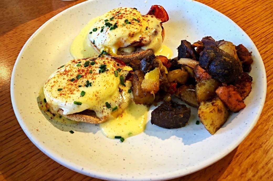 Cherish Farm Fresh Eatery - Eggs Benedict